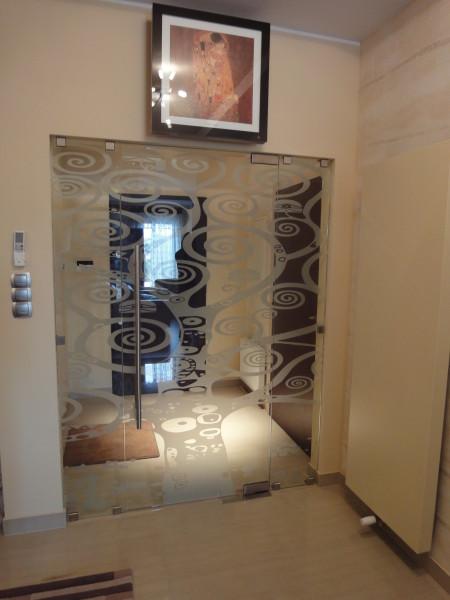 Zaktualizowano Drzwi szklane bezościeżnicowe - DGD Galeria Drzwi KL87