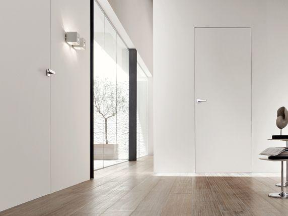Drzwi ukryte wroc aw bezo cie nicowe przesuwne z - Porte filo muro prezzi ...